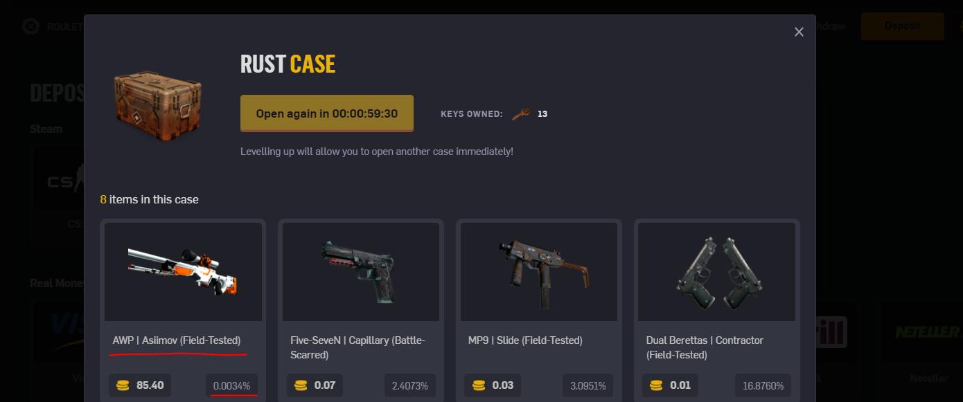 free case csgoempire